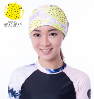H05 boxfish headwear (double side pattern )