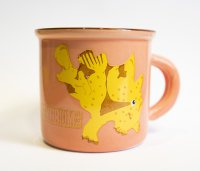 frogfish pink espresso mug 100ml