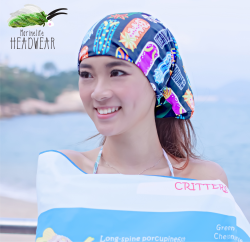 H07 nudibranch headwear (double side pattern )